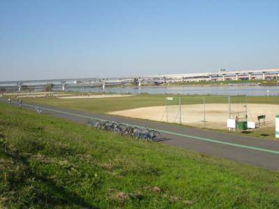 荒川四ツ木橋緑地野球場_墨田区_草野球グラウンドガイド